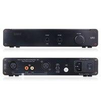 SMSL VA1 DT HIFI Audio Desktop Headphone Amplifier AMP with Balanced Input Fit DT880/990/K701/702 Black 110V/220V