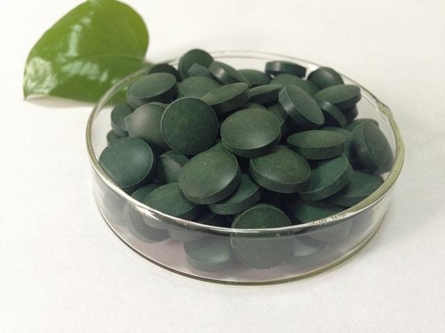 1000 unidades tabletas chlorella Orgánica Chlorella vulgaris pastillas 250 mg tablet envío gratis