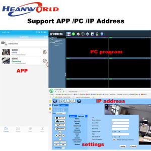 Image 5 - 1080P WiFi Camera Wireless IP Camera Wifi HD 2.0MP 720P Onvif Security Camera Module with  Antenna SD Card Slot Audio Port