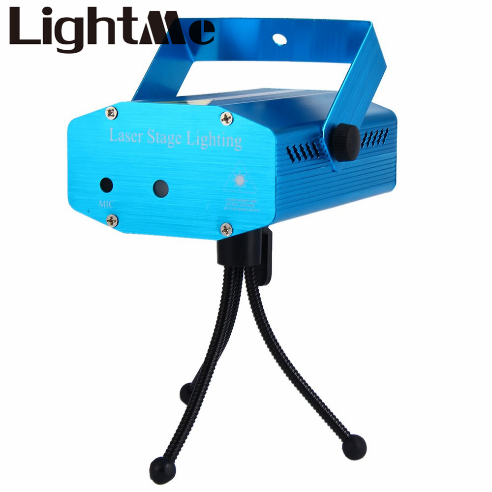 Prime Voix Automatique LED Pointeur Laser Disco Stage Light Party Motif Éclairage Projecteur Show Laser Projecteur Lumières