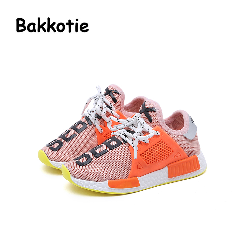 Bakkotie 2018 Spring Autumn Baby Fashion Child Boy Leisure Shoe Lace-up Girl Casual Breathable Sport Sneaker Kid Trainer Toddler bakkotie 2017 new fashion children spring autumn baby boy casual sport shoe leisure kid brand breathable trainer comfort sneaker