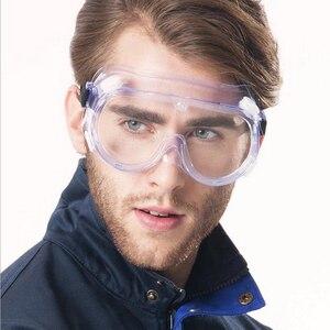 Image 5 - 3m 1621 مكافحة تأثير مكافحة الكيميائية سبلاش نظارات حماية الاقتصاد واضح عدسة حماية العين الغبار مختبر العمل نظارات