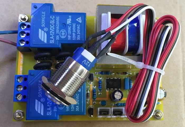 GZLOZONE класс A усилитель мощности Задержка пусковая плата/1000 Вт мягкий Пуск + выключатель питания L3-61