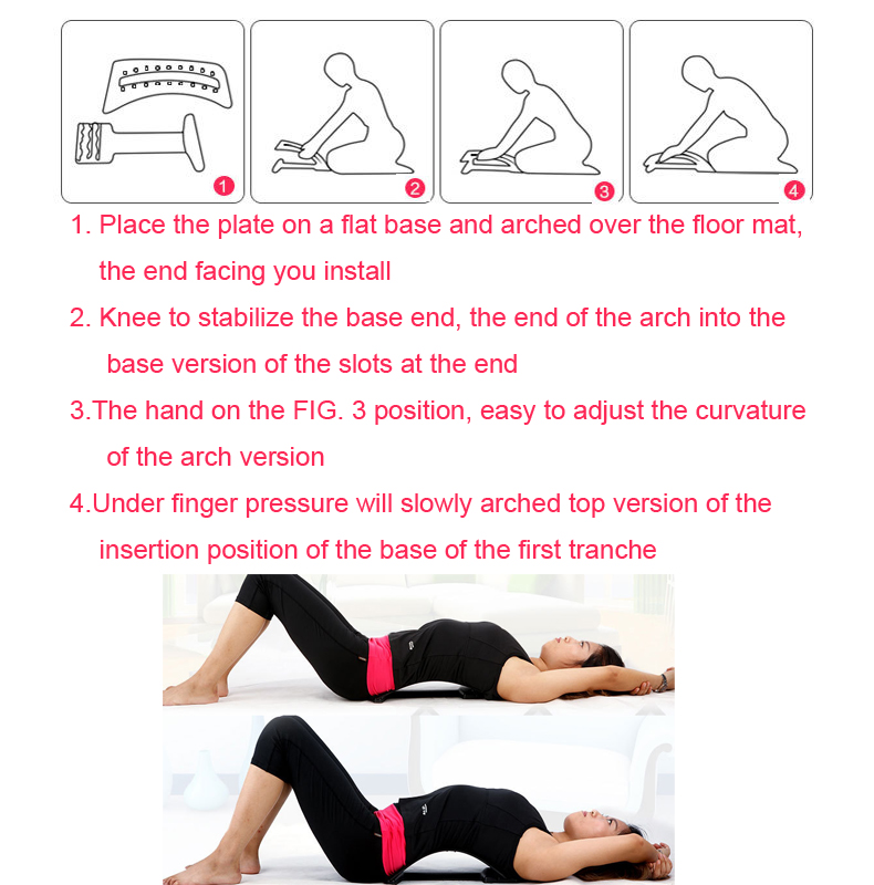 Hopeforth Back Massage Magnets Back Stretching Multi Level Plus