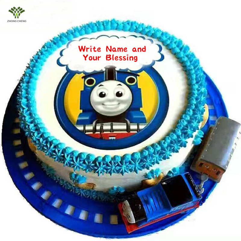 Thomas Wafer Paper Edible Thomas Cake Topper Personalized