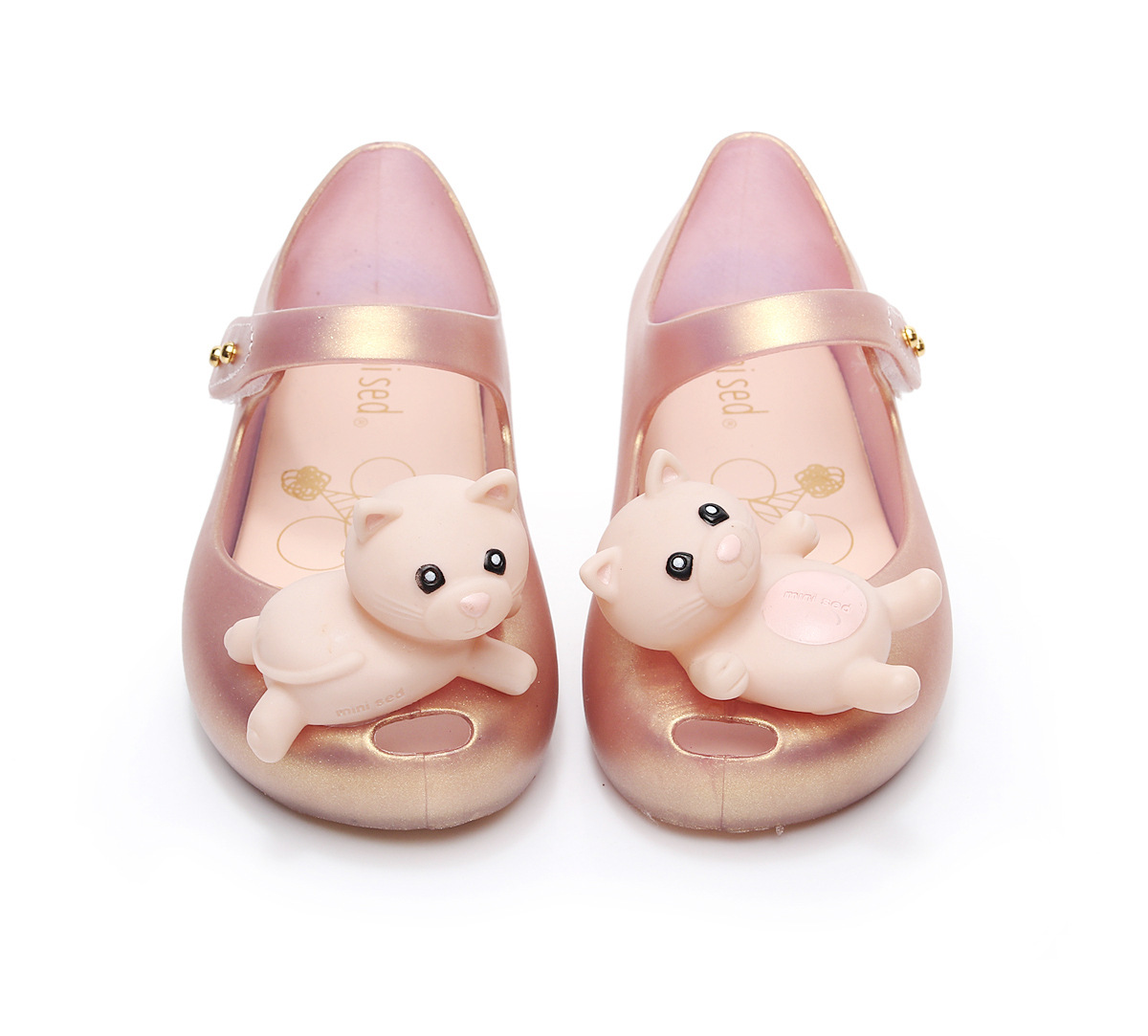 2018 Mini Hole Summer Jelly Childrens Shoes Hot Sale Plain Rain Boot Baby Children Toddler Kids Sandals
