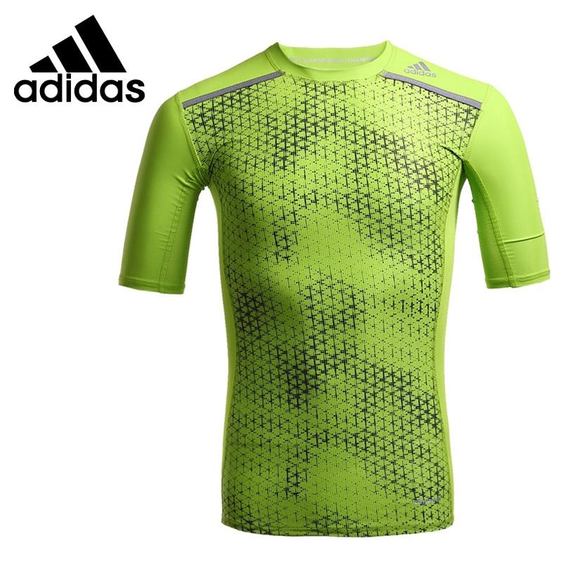 ФОТО Original New Arrival  Adidas Climachill  Men's T-shirts short sleeve Sportswear