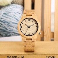 Relógio de pulso de quartzo de madeira natural amadeirado reloj hombre simples relógio de pulso masculino único ponteiro luminoso|Relógios de quartzo| |  -