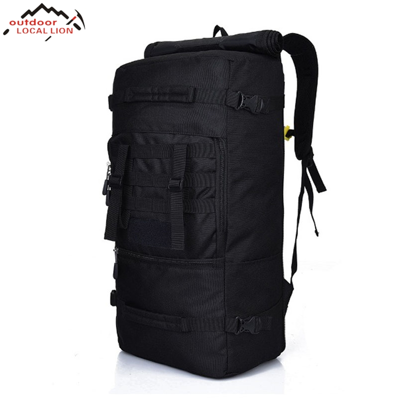 50L Military Tactical Backpack Multifunction Sport Bag Molle Tactical Bag Water Resistant Rucksack Mochila Feminina 50l multifunction sport bag molle tactical bag water resistant camouflage backpack for outdoor climbing hiking camping 8 colors