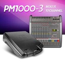 ¡ Nuevo!! Con cubierta 1000-3MIDI in out $ number vías de alimentación con efecto amplificador Mezclador PowerMate Grupo 4 doble efecto con amplifier2X1000