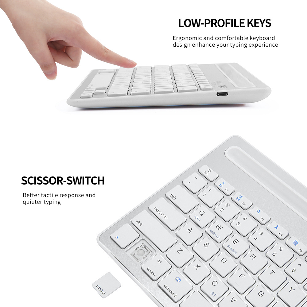 Bluetooth Keyboard Wireless  (9)
