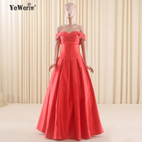 A-line Off shoulder black Prom Dresses Elegant Formal Gowns robe de soiree Long Party Gown Engagement Dress For Prom Dresses Red