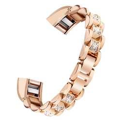Новый 1 шт. Замена небольшой металлический кристалл часы наручные ремешок легко настроить для Fitbit Alta hr/Alta droship 23 16 апреля