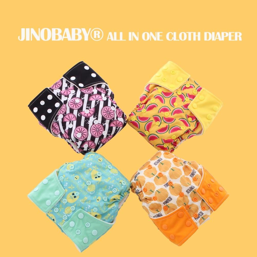 Pañal de tela JinoBaby Fruit Aio Nappy - Pañales de tela modernos - Pañales y entrenamiento para ir al baño