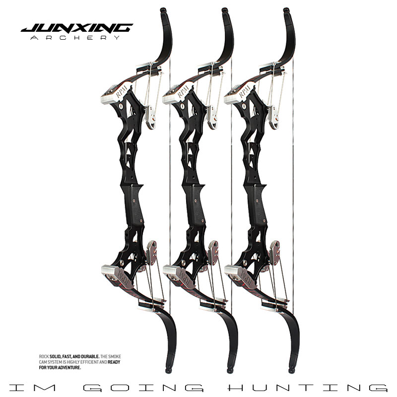 JUNXING стрельба из лука NITIO блочный лук точность стальной шар лук левый/правый ручной Открытый Охота стрельба из лука аксессуары