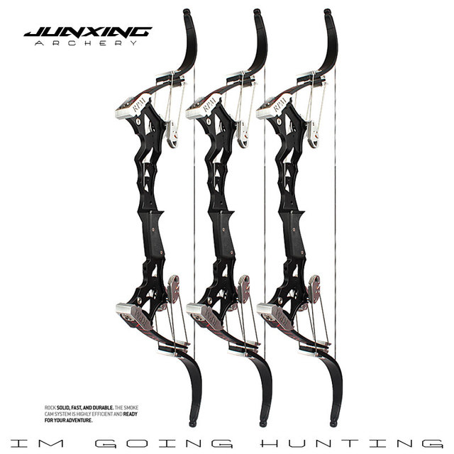 JUNXING Archery NITIO Compound Bow Precision Steel Ball Bow Left/Right Hand Outdoor Hunting Shooting Archery Accessories