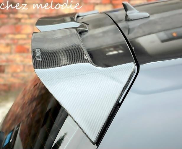 OETTINGER stile reale fibra di Carbonio Auto Ala Spoiler Sul Tetto Per Volkswagen GOLF 7 MK7 versione normale/GTI/R/Rline 2014-2016