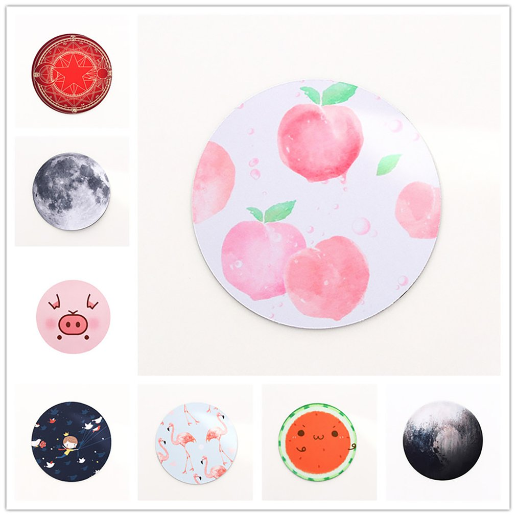 Exquisite Planets Star Pattern Round Mousepad 200x200MM 8kind Of Star Mouse Pad Choose For Gift/game/office Tablet Mats