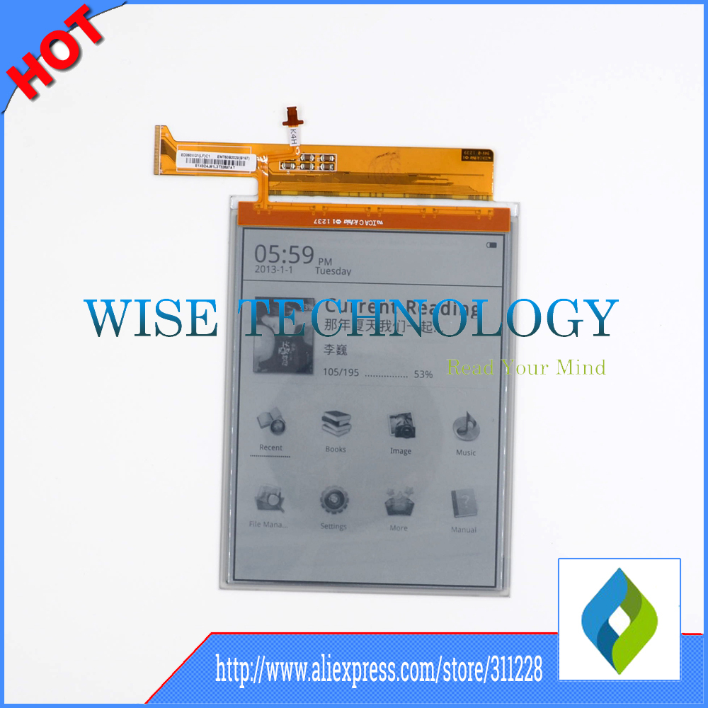 6 inch original E-ink HD screen ED060XG1(LF)C1 for E-book reader free shipping , ebook LCD6 inch original E-ink HD screen ED060XG1(LF)C1 for E-book reader free shipping , ebook LCD