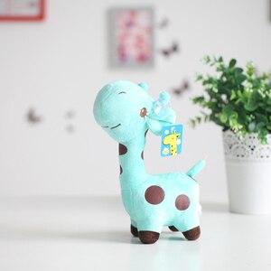 Image 5 - 18 Cm/25 Cm Leuke Giraf Knuffel Hanger Zachte Herten Gevulde Cartoon Dieren Doll Baby Kids Toys Kerst verjaardag Kleurrijke Geschenken