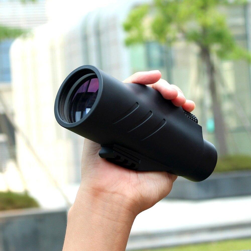 SVBONY 10x50 Monocular BAK4 Prism Waterproof Broadband Multi-coated Telescope for Hunting Camping Hiking w/ Hand Strap F9317 цена