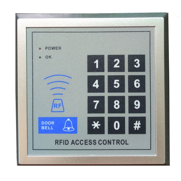 free ship by DHL ,em access control+ power+magnetic lock+U bracket +remote control +exit button +door bell +10 tags,sn:em-005s free ship by dhl access control kit one em keypad access control power magnetic lock u bracket button 10 em card sn em 008