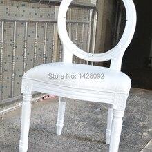 Кристально прозрачный задний деревянный Lois Свадебный обеденный стул LQ-L5881R