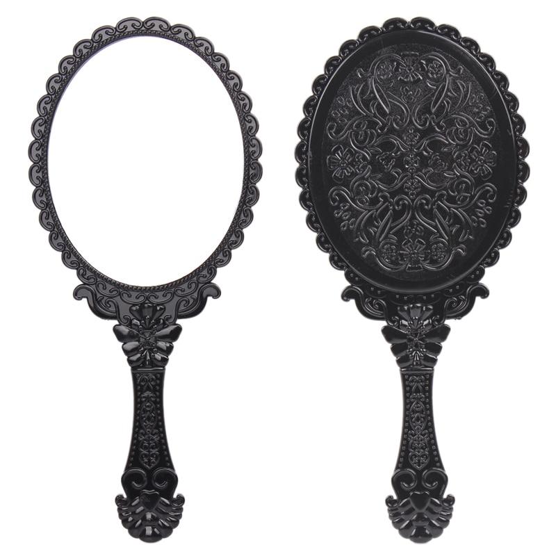 Popular plastic hand mirror buy cheap plastic hand mirror for Mirror quality
