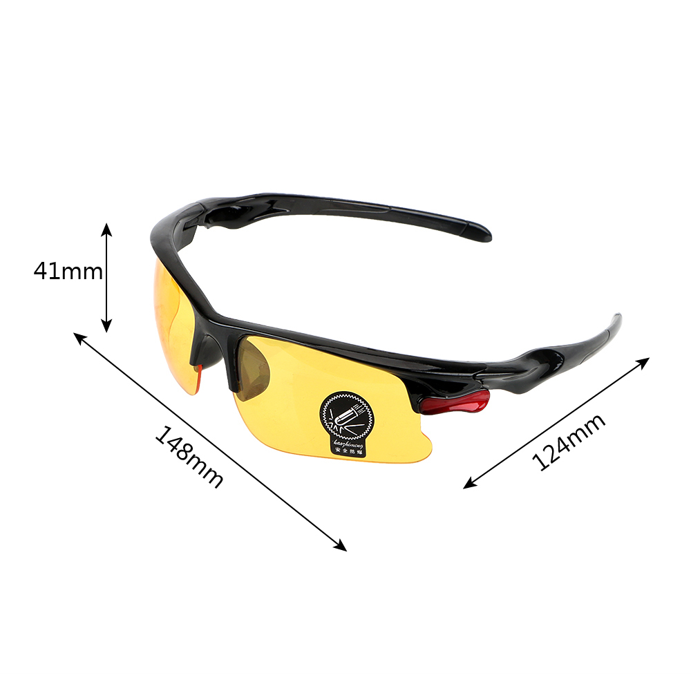 Night Vision Drivers GogglesProtective Gears Sunglasses Anti Glare Driving Glasses Night-Vision Glasses Car Styling 5