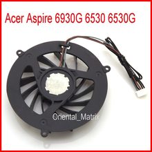 Gốc udqf2jh11cqu dc5v 0.19a cooler cho acer aspire 6930g 6530 6530g laptop cpu cooling fan(China)