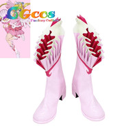 CGCOS Free Shipping Cos Cosplay Shoes Mermaid Melody Nanami Ruchia Boots New in Stock Halloween Christmas Party