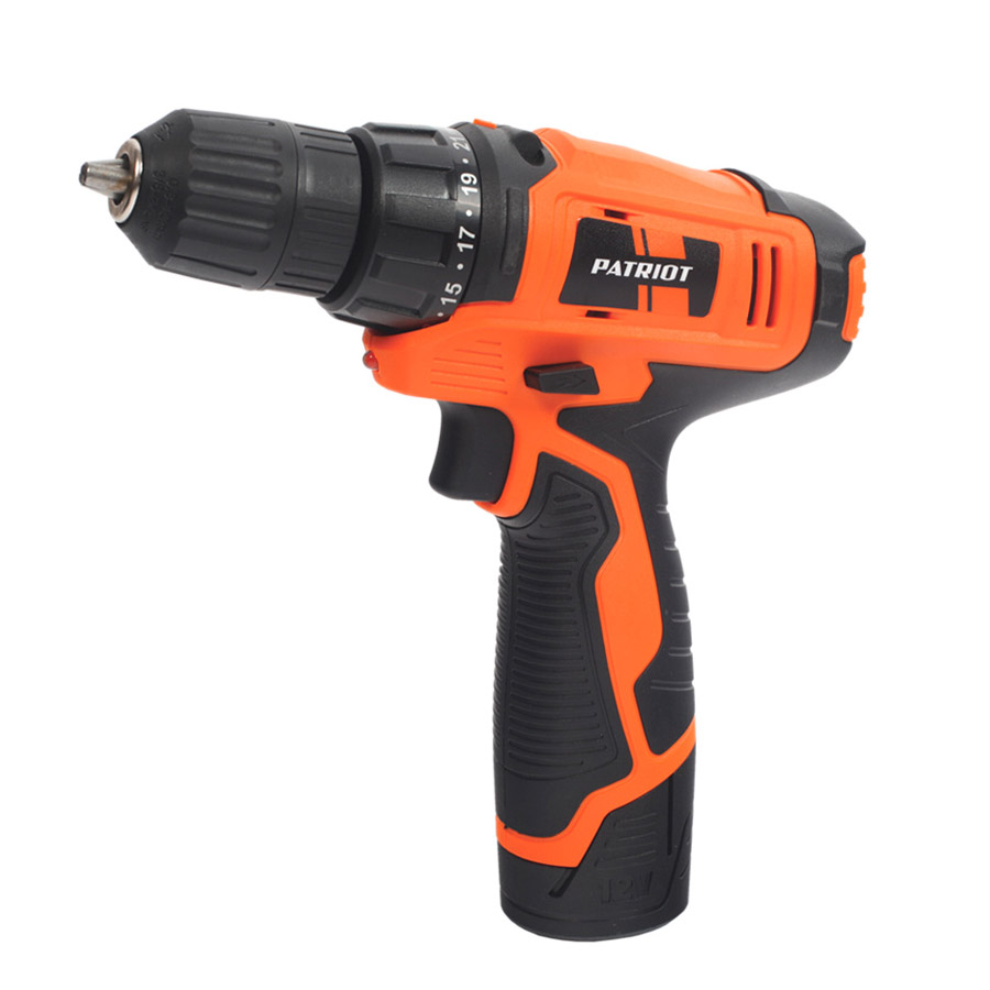 Cordless drill screwdriver PATRIOT BR 104Li The One cordless drill driver patriot br114li the one