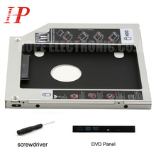 For DELL Inspiron 15R 3537 5521 3.0 2nd HDD SSD Adapter Caddy DVD-ROM Optibay 9.5mm Thickness