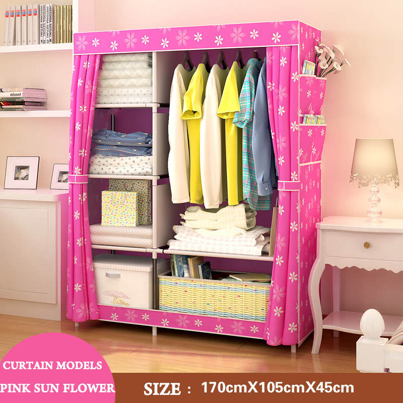 Modern Art Minimalist Home Portable Closets Nonwovens Bedroom Furniture  Free Assembly Multifunctional Foldable Wardrobe Closets On Aliexpress.com |  Alibaba ...