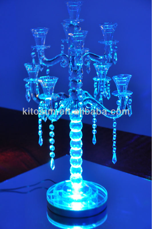 Unique Design Sale Wedding Centerpiece Lighting Lithium Battery Operated Remote Controlled Multi Colors 8led Party On Aliexpress