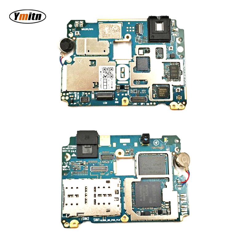 Ymitn Mobile Electronic Panel Mainboard Motherboard Unlocked With Chips Circuits Flex Cable For Meizu A5 M5C