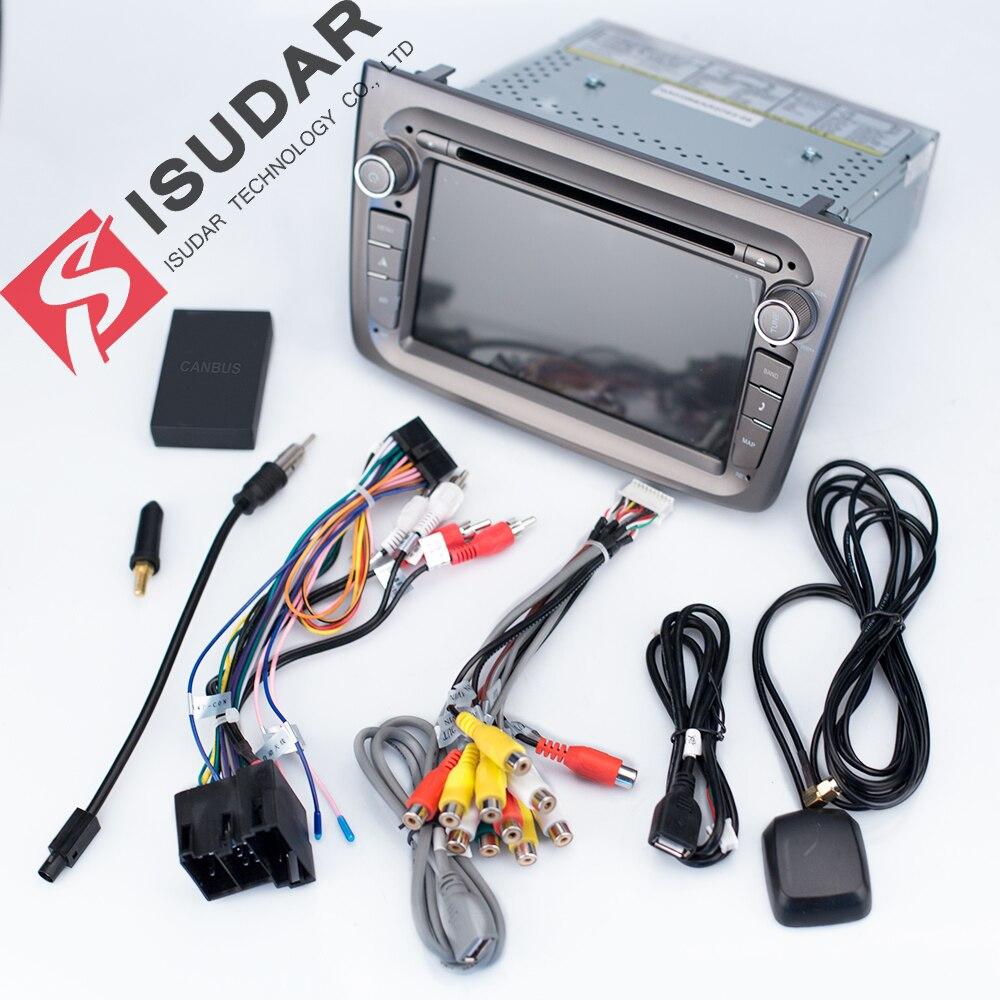 Lecteur multimédia de voiture Isudar 2 Din Android 9 pour Alfa Romeo Mito 2008-Radio automatique CANBUS Quad Core vidéo DVD GPS système USB DVR - 4
