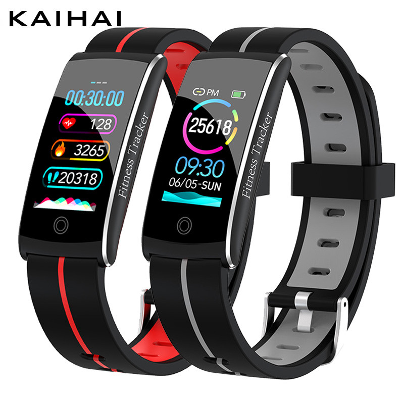 KAIHAI H29 activity wrist ip68 Waterproof smart bracelet Heart Rate Fitness Tracker