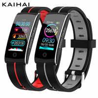 Pulsera de actividad KAIHAI H29 ip68, pulsera inteligente a prueba de agua, pulsera de ritmo cardíaco, pulsera smartband Fitness Tracker