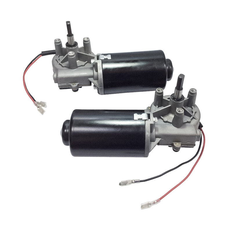 DC Gear Motor 24V 50 Rpm High Torque 8N.m Reversible Left&Right-phase Electric Gear Motor With Double Flat Shaft For DIY HobbyDC Gear Motor 24V 50 Rpm High Torque 8N.m Reversible Left&Right-phase Electric Gear Motor With Double Flat Shaft For DIY Hobby