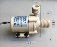 booster pump:centrifugal/Brushless/dc 12v/mute/solar water heater lzx