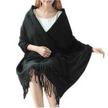 FS Hot Women Lady Winter Neck Warm Tartan Check Shawl Scarf Stole Plaid Pashmina Khaki