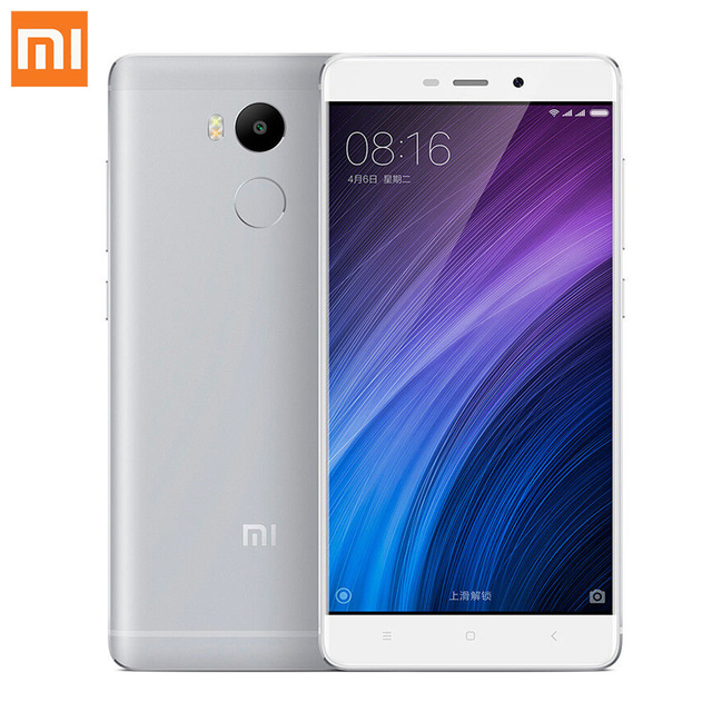 "Оригинал Xiaomi Редми 4 Pro Премьер Смартфон 3 ГБ RAM 32 ГБ ROM Snapdragon 625 FHD 4100 мАч MIUI 5.0 ""13.0MP Redmi4 Xiomi Мобильного Телефона"