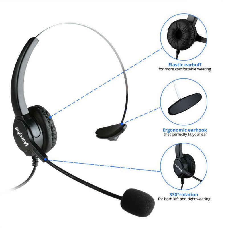 PROMOTION!!Office Headset Headphone with Mic ONLY for CISCO