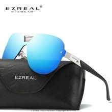 EZREA Мода Поляризованных Солнцезащитных Очков Женщины Алмаз Люксовый Бренд Дизайн Мужчины Солнцезащитные Очки Женские Polaroid Линзы Óculos De Sol женщина для