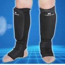 Хлопок боксерские щитки MMA подъем протекторы Защита ног TKD кикбоксинг pad Muaythai тренировка ног поддержка протекторы