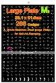 Профессиональные KONAD Искусства Ногтя Штамповка изображения пластины для искусства ногтя штамповка 286 Дизайн Большой Размер 33.1*21.5 см-БЕСПЛАТНАЯ ДОСТАВКА