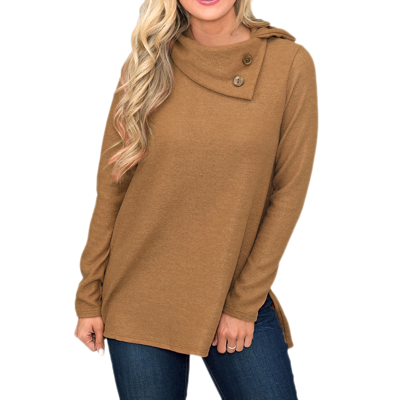 High Quality Turtleneck Sweater Women Winter thick Pullover Solid Knitted Sweater Tops for Women Autumn Female oversized Sweater