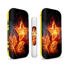 Anti scratch Skin Stickers 3M Printing high quality Material cool design Decorative for IQOS Sticker 2.4Plus Cover