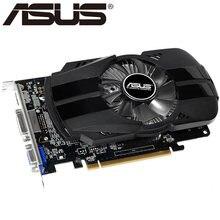 Asus placa gráfica original gtx 750 1gb 128bit, gddr5 placas de vídeo para nvidia geforce gtx750 dvi usado cartão vga mais forte do que 650